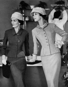 Sakowitz suit, 1957 #EasyNip