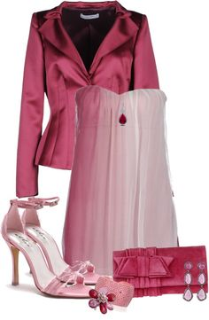 """""""Hues Of Pink"""" by jaimie-a on Polyvore"""