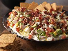 Cobb Salad Dip Recipe | Kitchen Daily