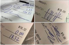 ​An Open Letter To The People Who Don't Tip Their Servers
