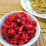 Cranberry Orange Relish - This is great as a relish, but I toast and english muffin. spread on cream cheese then top that with a table spoon of the this relish. Sweet and zingy. Cranberry Orange Relish, Canned Cranberry Sauce, Cranberry Recipes, Cranberry Salad, Thanksgiving Recipes, Holiday Recipes, Christmas Recipes, Holiday Ideas, Christmas Ideas