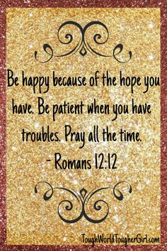Romans 12:12. Planning for 2017? Let's start with 31 daily prayers for the future.