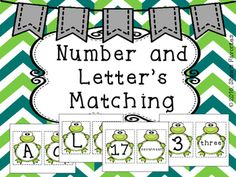 If your students are learning their letters and numbers, these two games are great for them.  In this download, you will receive two sets of matching games. {Letters and Numbers}  Your students can match up the uppercase and lowercase letters.  The numbers go from 0-20, but you can choose the ones you want.