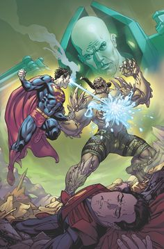 Injustice: Gods Among Us: Year Five As Superman scours the earth for Bizarro, Luthor desperately tries to figure out how to destroy the failed clone he created. Superman News, Superman Family, Batman And Superman, Doomsday Superman, Superman Stuff, Spiderman, Alexander Luthor, Character Drawing, Comic Character