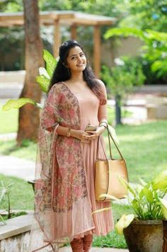 Anupama parameswaran largest image gallery of 200 cutest hot sexy unseen latest collection in which she is with her body show navel and big. Salwar Designs, Kurti Neck Designs, Kurta Designs Women, Kurti Designs Party Wear, Dress Indian Style, Indian Dresses, Indian Outfits, Designer Anarkali Dresses, Designer Dresses