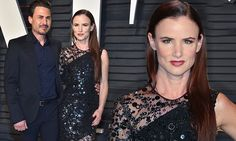 Juliette Lewis makes Oscars after party debut with beau Brad Wilk