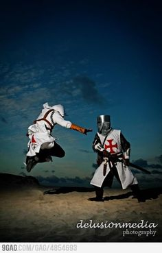 Altair and Templars