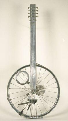 Bike Wheel Guitar