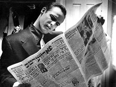 Marlon Brando photographed by Phil Stern, behind the scenes of Guys and Dolls, 1955.