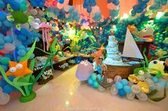 Mar de Davi por Tia Lola Decorações - Pesquisa Google