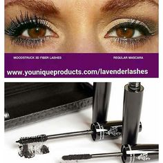 NEVER WEAR REGULAR MASCARA AGAIN!  Before and After of Regular Mascara and our 3D Fiber Lashes Mascara.  Enhance and add Volumne to your Eye Lashes today!  Perfect for any Occasion.   Visit www.youniqueproducts.com/lavenderlashes m  We sell #Glutenfree and #Vegan cosmetics and ship to #UnitedStates #UnitedKingdom #Canada #NewZealand #Ausralia #holidayseason2014 #holidaygiftset #lavenderlashes #holidayshopping #eyeliners #lipliners #bestoftheday  #Skincare #entrepreneur #makemoney…