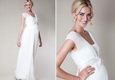 Vestidos de noiva para grávidas. #casamento #vestidodenoiva #noiva #gravida