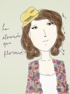 La ilusión que floreció.- Anna Clara 05/04 // instagram: mochroi.design