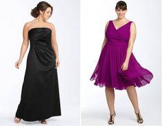 Vestidos de festa plus size fluídos – Nordstrom Verão 2011 [10]
