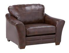 Slumberland | Brockport Collection - Brown Chair