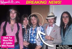 Dale 'Buffin' Griffin Dead: Mott The Hoople Drummer Loses Alzheimer's Battle At 67