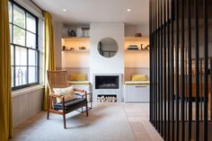 Completed in 2018 in London, United Kingdom. Images by Adam Scott. This is the first project where Fraher Architects worked alongside their in-house construction company, Findlay Fraher. Georgian Terrace, Architects London, Minimal Home, London House, House Extensions, House And Home Magazine, Living Spaces, Living Room, Construction