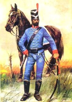 Argentina 1º Húsares del Rey 1806