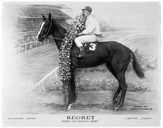 Regret, 1915 Kentucky Derby winner...the first filly to win the Derby
