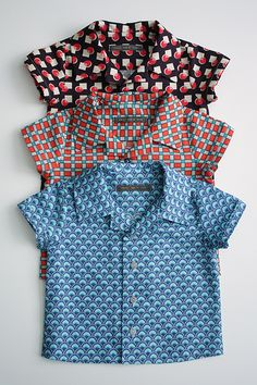KCW: de week van de hemdjes - spiegelstiksels = = + uitleg reverskraag - patroon knippie