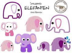 ELEFANTASTISCH *10x10* von SCHNOOKYWOO auf DaWanda.com