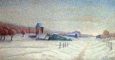 Winter+Landscape,+1885+-+Albert+Dubois-Pillet