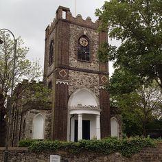 Dagenham Parish Church, Dagenham Village #essex Hanging Gardens, Vintage London, London England, Big Ben, Memories, Spaces, Building, Happy, Rooftop Gardens