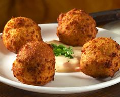 The Blue Cheese Fritters at San Chez are amazing and they even shared the recipe!