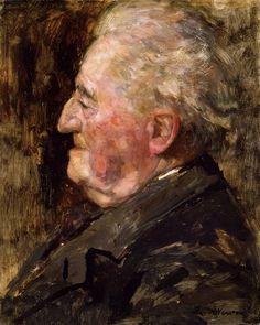 Floris Verster, Portret van Florentius Abraham Verster van Wulverhorst (1902), Collectie Museum De Lakenhal, Leiden