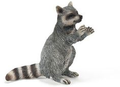 Schleich Raccoon, standing at theBIGzoo.com, a toy store that has shipped over 1.2 million items.