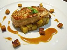 foie gras sauce pain d'epices