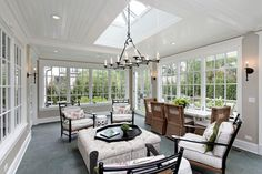 A little too plain for me but I love the windows. Sunroom Porch Design Ideas, Pictures, Remodel and Decor