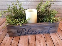 Blessed Farmhouse Style Crate Back of Stool Crate Farmhouse image 5 Country Farmhouse Decor, Farmhouse Style, Antique Farmhouse, Primitive Country, Modern Country, Modern Farmhouse, Handmade Home Decor, Diy Home Decor, Room Decor