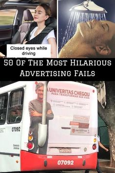 There's good advertising that makes you convinced you can't live without the product or service. Then, there's excellent advertising that proves it's a form of art, just like these mind-bending and clever billboard ads. #50 #Hilarious #AdvertisingFails