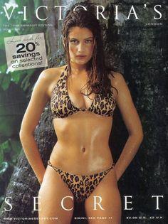 3f40eed9c1 Casta featured on this 1999 Victoria s Secret catalog