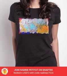 Drawing - Artist Mara -- Probiere es aus unter #Snaptee #tshirt