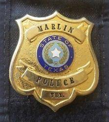 Marlin Tx Pd Texas Police Badge Law Enforcement Badges