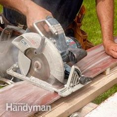 How to cut, nail and install durable fiber siding, plus caulking and painting tips