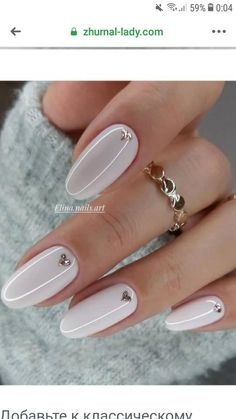 These pretty nails are just perfect for Spring We're entering a new year and heading to a new season. A season of soft, romantic and feminine , it's a spring season. Nagellack Design, Nagellack Trends, Heart Nail Art, Heart Nails, Diy Ongles, Milky Nails, Romantic Nails, Cute Spring Nails, Spring Nail Art