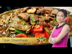 Spetterende hete plaat: Tipan ossenhaas - YouTube Food Map, Spareribs, Asian Recipes, Ethnic Recipes, Kung Pao Chicken, Chinese Food, Food And Drink, Tasty, Beef