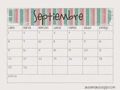 imprimibles freebies calendario gratis septiembre 2014