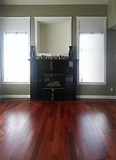 Great color combinations Beautiful Red Oak stained hardwood