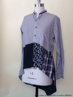 Мобильный LiveInternet Творческий подход к мужской рубашке.   nirsa - Дневник nirsa  