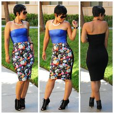 Mimi Style DIY Leather Dress..This girl knows she can sew!