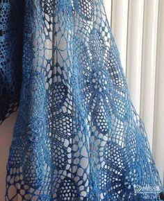 ergahandmade: Crochet Scarf + Diagram