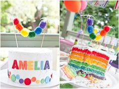 Gorgeous Rainbow Party :: Sweet Customers