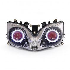 Honda CBR600F4 F4i HID LED Projector Headlight Assembly 2001-2007