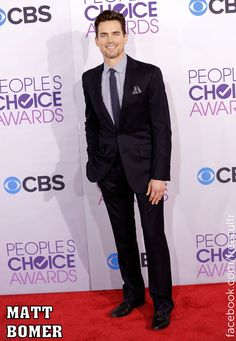 Matt Bomer at the 2013 People's Choice Awards!