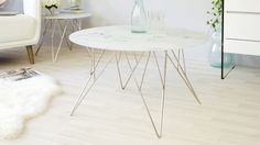 The Ghost Marble Glass and Chrome Coffee Table has a tempered glass table top with a patterned marble effect. The legs are finished in a shiny chrome and are a fine lattice design. Coffee Tables Uk, Walnut Coffee Table, Coffee Table With Storage, Best Coffee Grinder, Best Coffee Maker, Coffee Shop, Tempered Glass Table Top, Tiny Living Rooms, Lattice Design