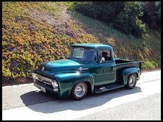 F92 1956 Ford F100 Pickup 350 CI, Automatic #MecumAnaheim